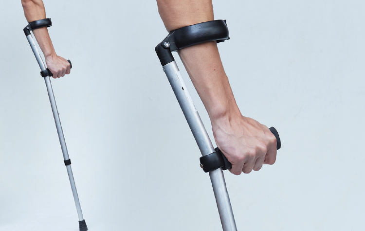 Mastercare Enterprises | NUOrtho Product Range - Crutches/ Walking Sticks, ALUMINIUM ELBOW CRUTCH - HEAVY WEIGHT DUTY [NU-AECL]