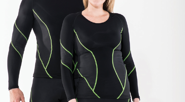 Mastercare Enterprises | NUOrtho Product Range - Rockets Compression, ELITE COMPRESSION LONG SLEEVE TOP [RCGETL]