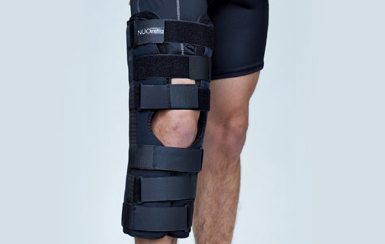 Mastercare Enterprises | NUOrtho Product Range - Knee Bracing, KNEE-IMMOBILIZER THREE PANEL [NU320]